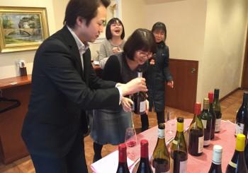 月2回開催!ワイン試飲会!